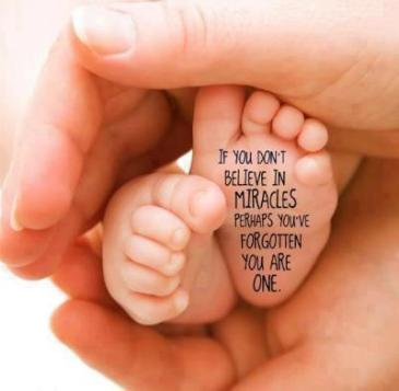 miracle baby feet